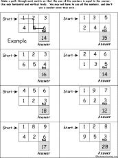 math addition enchantedlearning com