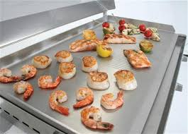 cuisiner à la plancha gaz jc perreault extérieur barbecue plancha plaque de cuisson au gaz