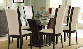 dining room intriguing modern dining room table with bench cool