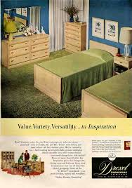 1950 Bedroom Furniture 50s Bedroom A Very Typical Bedroom Set Of Drexel Inspiration