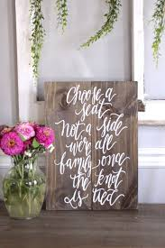 wedding seating signs the 25 best no seating plans ideas on reception