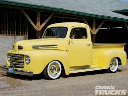 Vintage Ford Truck Signs - 1948 ford f 1 pickup truck rod network