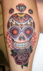 stars girly skull and spider web tattoos photos pictures and