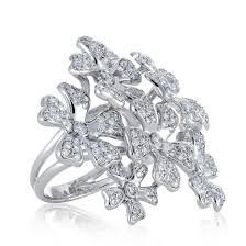 debeers engagement rings de beers wildflowers statement ring jewelry collection