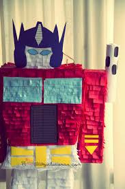 optimus prime pinata piñatas que ilusionan piñata personalizada transformers optimus prime