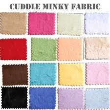 minky solid fabric soft cuddle minky fabric