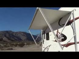 5th Wheel Awnings Power Awning Cougar 276rlswe Fifth Wheel Trailer Review Youtube