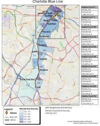 Charlotte Map Charlotte Transit Stations Realizing Development Potential