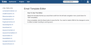 outgoing email template editor for jira atlassian marketplace
