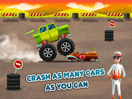 monster trucks races cartoon cars car builder 3 mad race android apps on google play