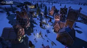 planet coaster s free winter update brings festive cheer