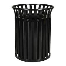 pat2511a outdoor home furnishings trash cans storage black wicker