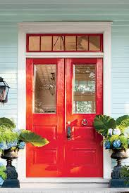 Blue House With Red Door What Does Your Front Door Color Say About You Southern Living