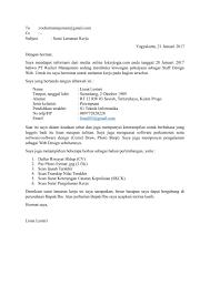 contoh surat pernyataan untuk melamar kerja download contoh surat lamaran kerja info and news cryptocurrency