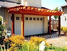 Trellis Construction 2 Garage Pergolagarage Door Arbor Photos Trellis Kits U2013 Venidami Us