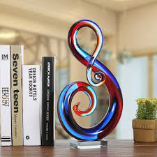music note home decor best and cheap multicolored tooarts music note glass sculpture home