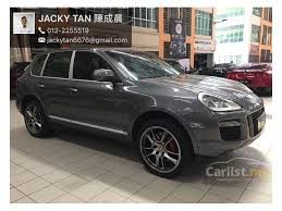 porsche cayenne turbo s 2007 porsche cayenne 2007 turbo 4 8 in selangor automatic suv grey for