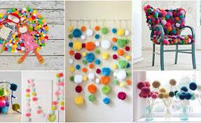 Pom Pom Decorations Diy Pom Pom Decor Ideas That Are Cuteness Overload