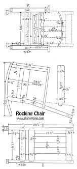 free building plans rocking chair designs free free building plans for a rocking chair