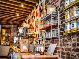 coffee shop in new york industrial design trending in hipster coffee shops the tile curator
