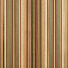 Upholstery Fabric Vancouver Green Gold And Burgundy Thin Striped Silk Look Upholstery Fabric