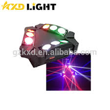 where can i buy disco lights mini led cheap stage lighting three row rotating spider beam effect