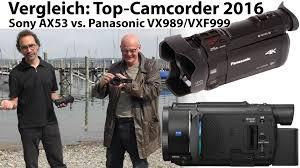 panasonic 3mos manual test sony ax53 vs panasonic vx989 vxf999 top 4k camcorder 2016