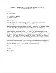 exle of resume cover letter for cover letter internship student hvac cover letter sle hvac
