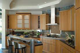 Japan Kitchen Design Modern Japanese Kitchen Design With Brown Cabiner And White Tile