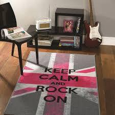 tapis chambre ado tapis chambre ado rock on flair rugs 100x160 chambre cloe
