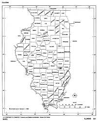 Map Of The United States With States Labeled by Illinois Outline Maps And Map Links