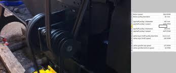 colchester triumph lathe motor conversion