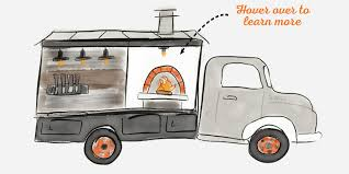 first truck ever made baltimore wood fired pizza caterer well crafted pizza wood
