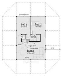 Shop House Floor Plans Traditional Style House Plan 2 Beds 1 Baths 780 Sq Ft Plan 1
