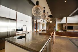 Contemporary Kitchen Pendant Lighting by Kitchen Living Room With Kitchen And Wireflow 2d Pendant Lights