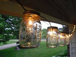 interior awesome mason jar lights outdoor jar of lights the