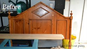 Bench From Headboard How To Make A Bench From An Old Headboard The Diy Bungalow