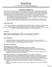 project coordinator resume alluring project coordinator resume objective on logistics sle