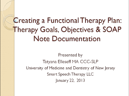 Soap Notes For Therapist New Giveaway Creating A Functional Therapy Plan Therapy Goals