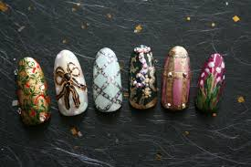 faberge egg nail art for easter nevertoomuchglitter nail wonderland