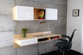Wall Mounted Office Desk Wall Mounted Office Desk With Black Leatherette Seat Nytexas
