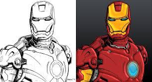 paint man iron man digital painting by therhaze on deviantart