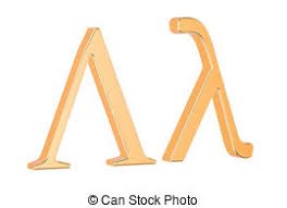 stock illustrations of 3d golden greek alphabet csp0767667
