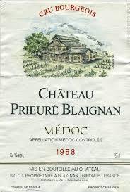 chateau blaignan medoc prices wine chateau prieure blaignan medoc prices