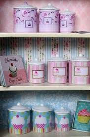 cupcake canisters for kitchen 146 best cupcake kitchen images on diy crafts and