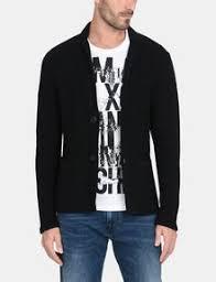 blazer sweater armani exchange pique stitch sweater blazer blazer for a x