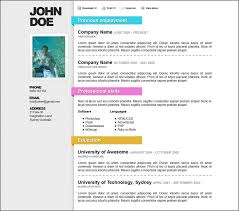 ms word resume templates best resume format in ms word free cv template microsoft