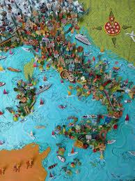 Maps Italy Sara Drake Italy Map Illustrated Maps Italy And Italia