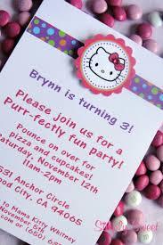 Hello Kitty Birthday Invitation Card 19 Best Hello Kitty Images On Pinterest Hello Kitty Parties