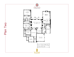 Floorplan Com by Plan Two Floor Plan The Vista At Twenty Mile Nocatee
